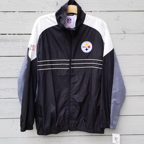 outlet store fac85 aa38b NFL | Steelers Windbreaker NWT